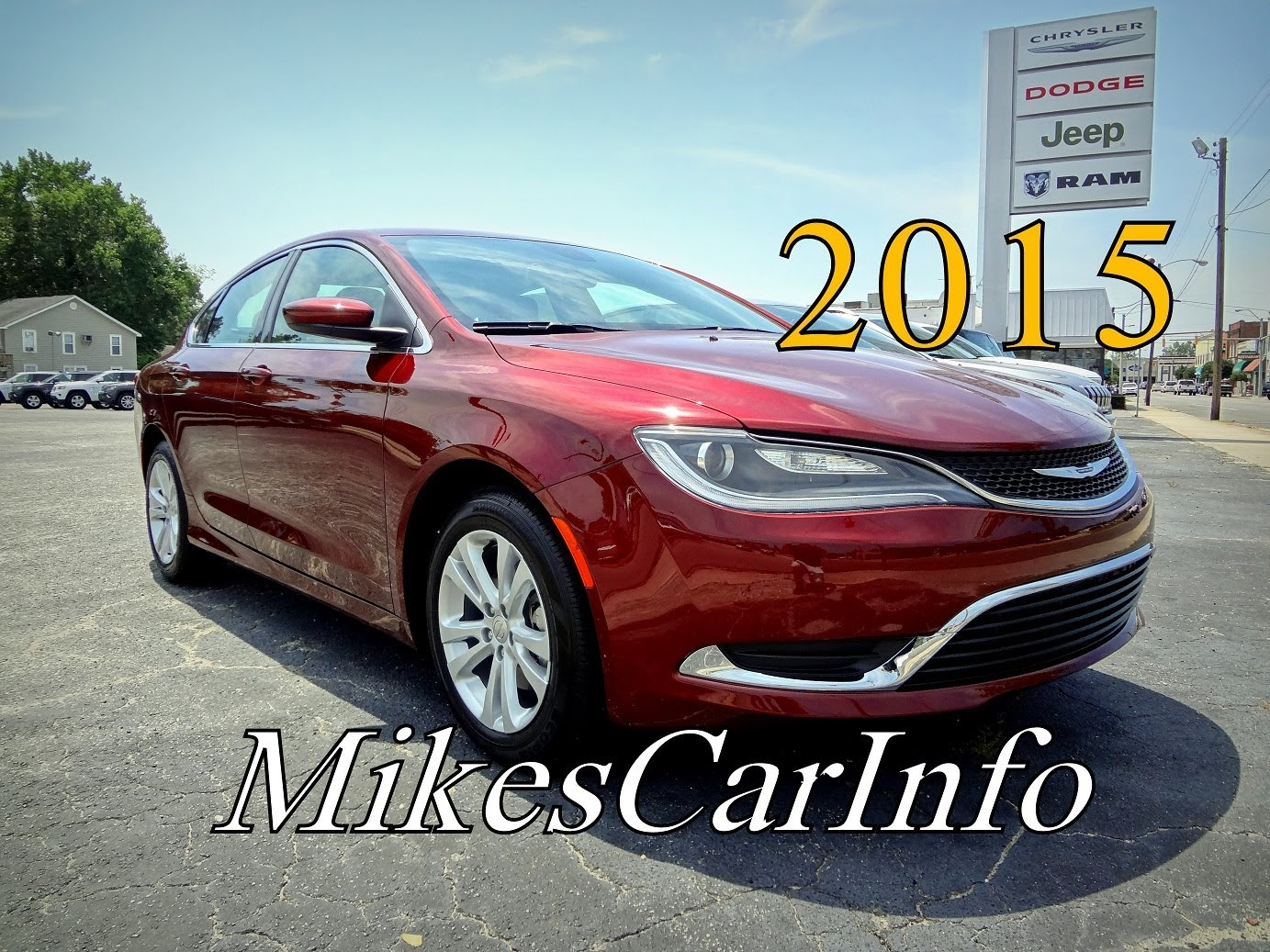 2015 Chrysler 200limited Car Review Video Tampa Florida