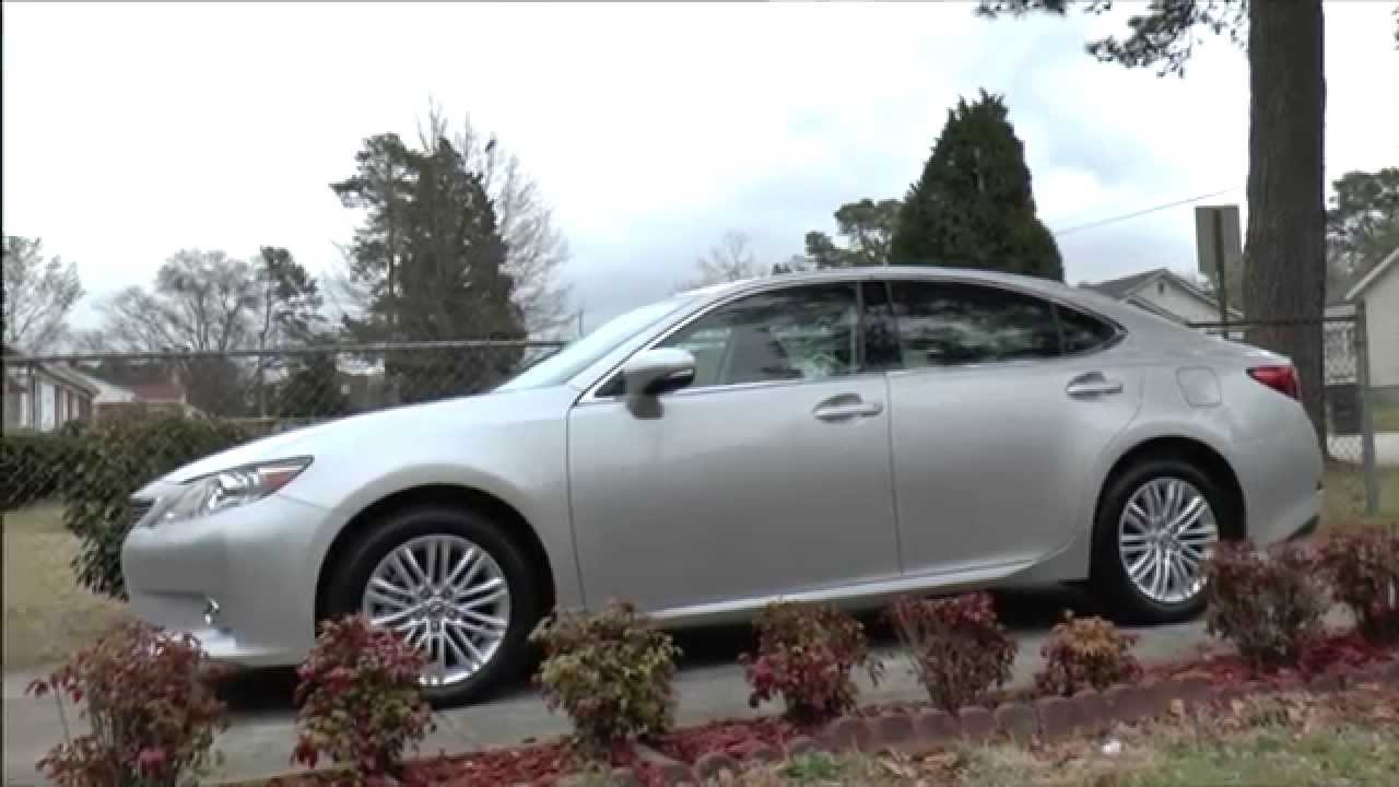 2015 Lexus ES350 Car Review Video