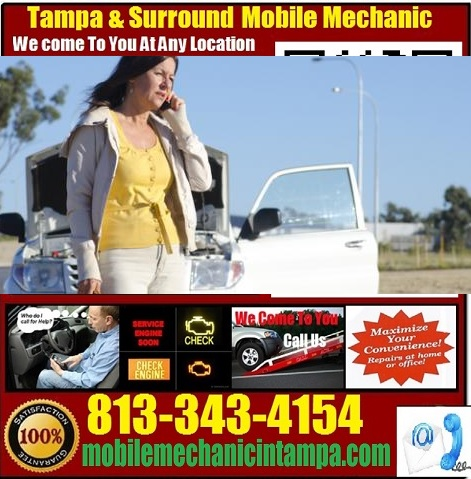 Mobile Mechanic Tampa Auto Car Repair Service Shop Near Me