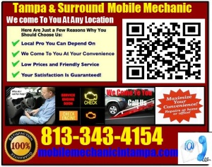 Mobile Mechanic PalmHarbor Florida