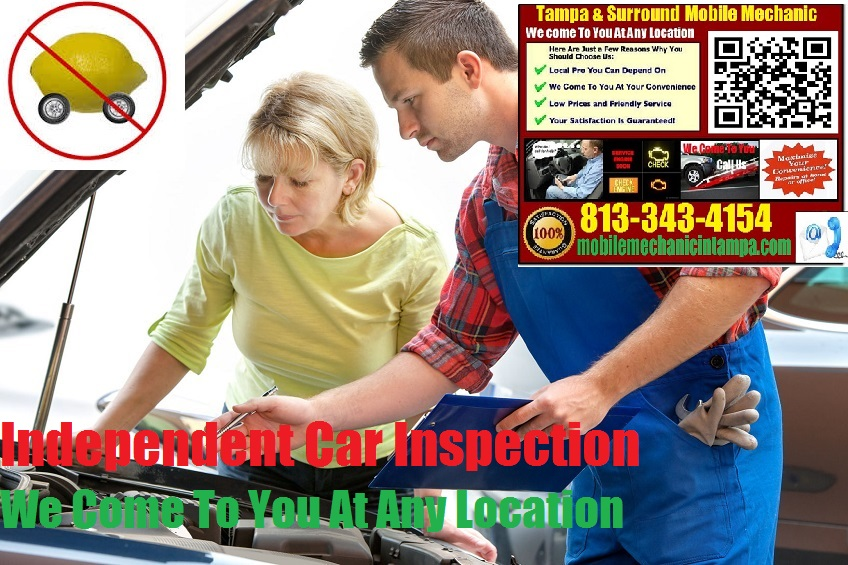 Pre Purchase Car Inspection Tampa Mobile Auto Mechanic Service